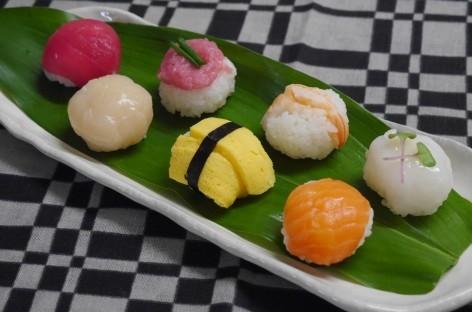 ころころ可愛い☆七色手まり寿司