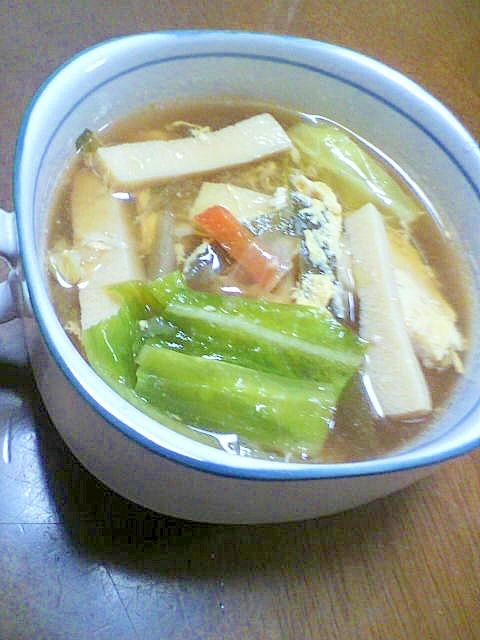 ほっとあったか、野菜スープ
