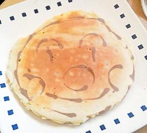 ツナとコーンのホットケーキ