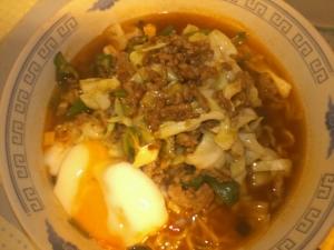 インスタント麺で§担々麺§