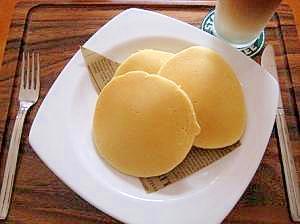 ふんわりふわふわ☆米粉のパンケーキ