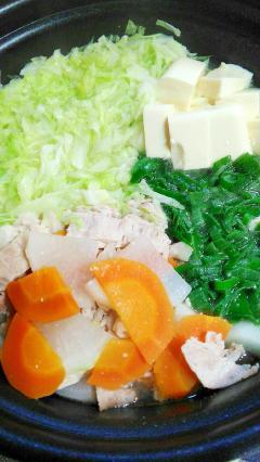 簡単で美味しい★野菜のうまみたっぷり鍋