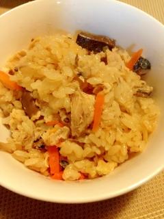 カルシウム☆サバ缶詰で炊き込みご飯