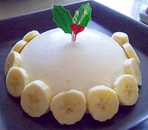 クリスマスに☆マーマレードのヨーグルトムースケーキ