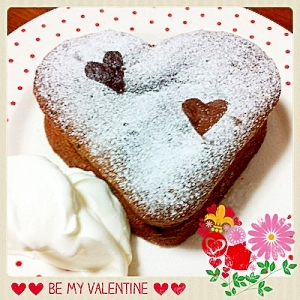 バレンタイン☆ガトーショコラ