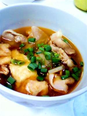 大根と豚肉中華風スープ