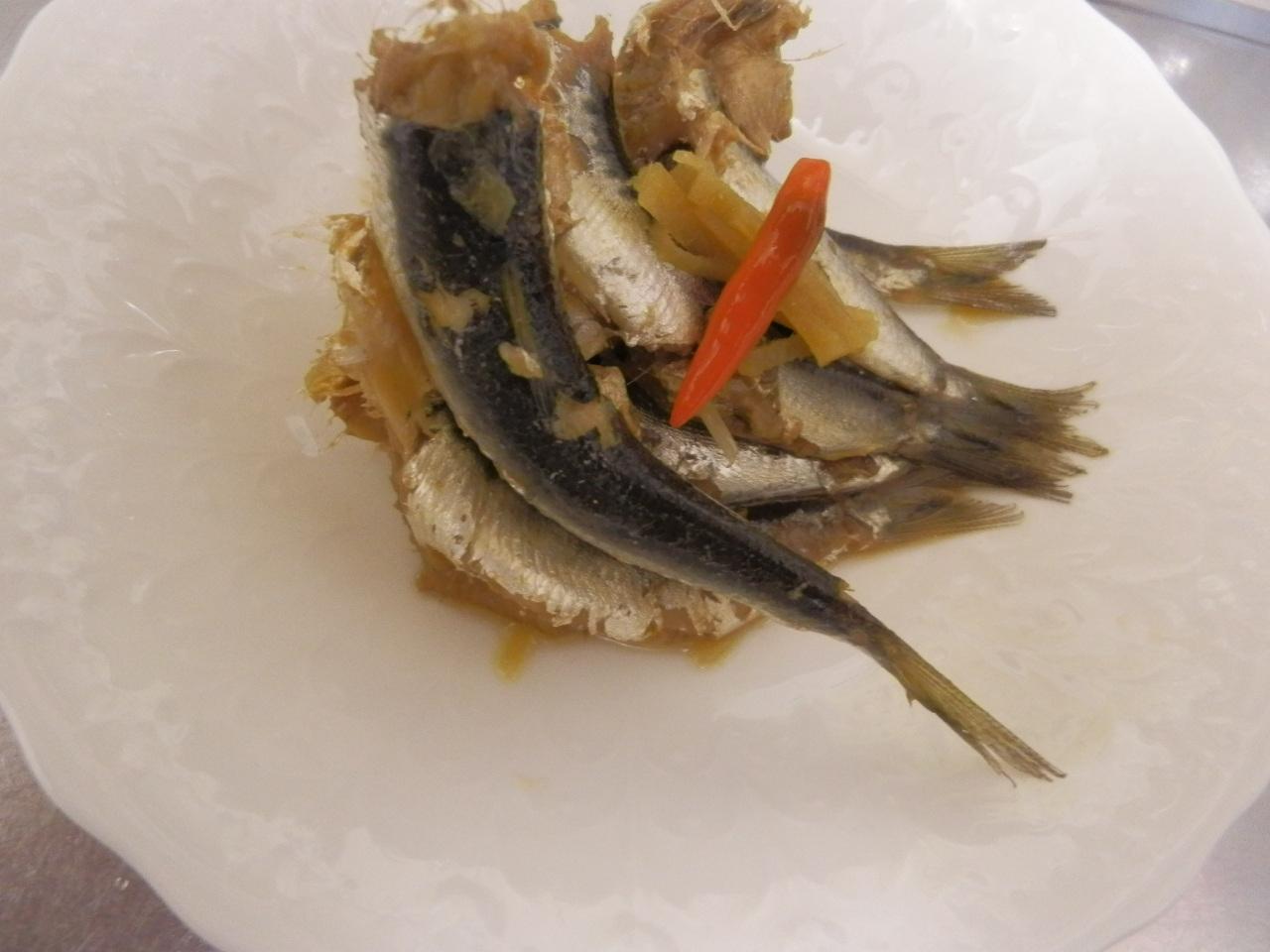 定番いわしの生姜煮
