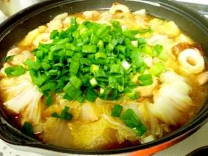 鶏肉とボリューム野菜の味噌煮