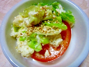 クリーミィレタスサラダ