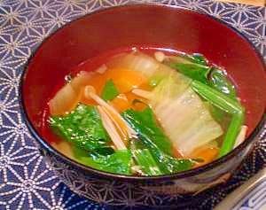 味覇で簡単☆具沢山な中華スープ