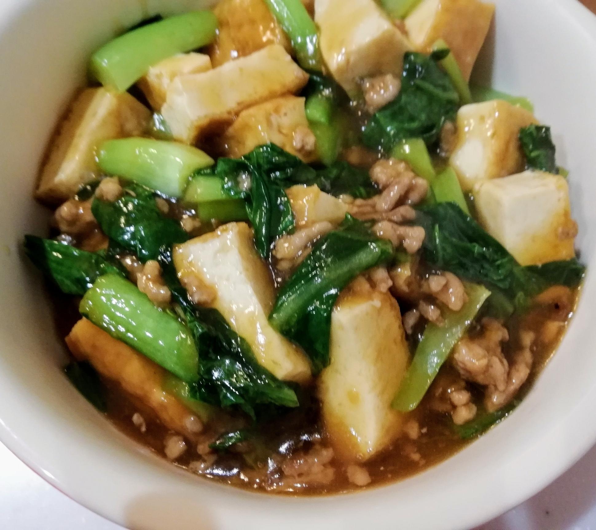 焼き肉のたれで超簡単☆子どもが喜ぶ♡そぼろ豆腐♪