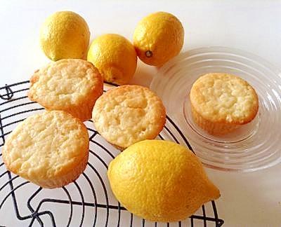 初恋のレモンマフィン♪~しっとり爽やかな甘さ!