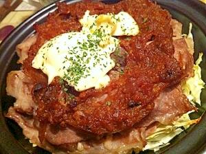タジンでキャベツと餅と豚肉の重ね焼き