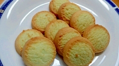 青汁粉末入りクッキー