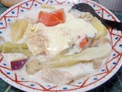タップリ野菜の優しい味☆鶏肉と野菜のミルクチーズ煮