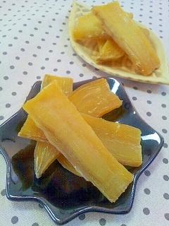 簡単✿おうちで作る干し芋❤さつまいもの甘味たっぷり