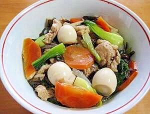野菜たっぷり☆中華丼