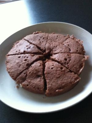簡単!シリコンスチーマーで!チョコレートケーキ