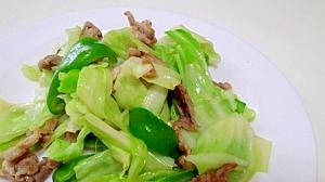素材を味わう!野菜炒め