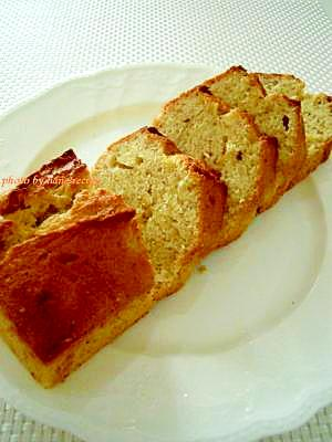 HMでしっとり★バナナパウンドケーキ