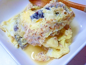 ルクエで作る卵蒸し