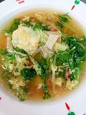 貝柱と干しエビのトロットロ和風スープ★