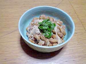 しそ酢納豆