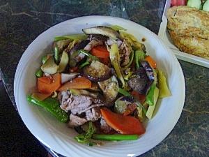 ナンプラーを入れたら、エスニック野菜炒め