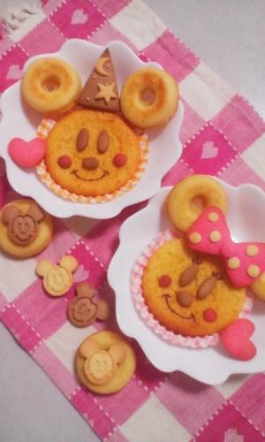 キュート♪ミッキー&ミニーのヨーグルトスイーツ