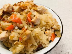 鶏肉 炊き込み ご飯 簡単