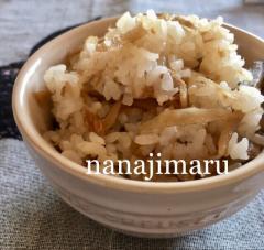 ごぼうとツナの混ぜご飯☆炊きたてご飯に後混ぜ!