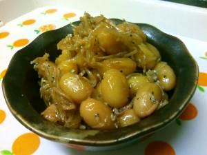 お豆をたべよう♪大豆とじゃこの常備菜