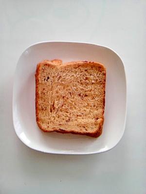 ナツメ食パン(ホームベーカリー使用)