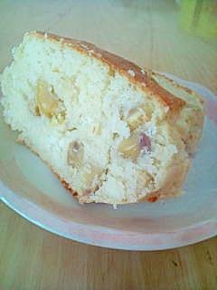 栗とおからのパウンドケーキ