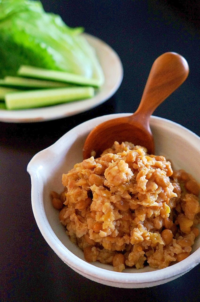 【糖質制限】アレンジいろいろ♪納豆肉味噌