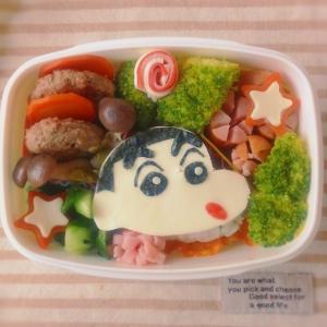 クレヨンしんちゃんお弁当(キャラ弁)