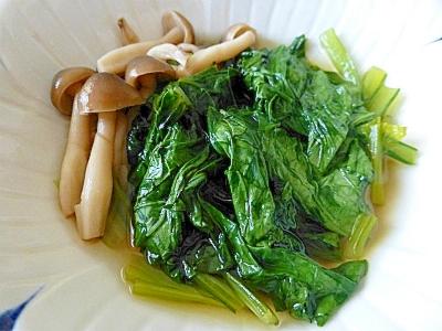 【簡単】小松菜の煮びたし