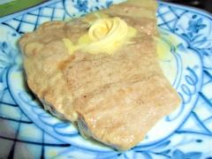 牛脂&バターでもち豚ステーキ
