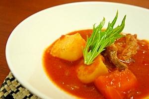 ポークのトマトシチュー