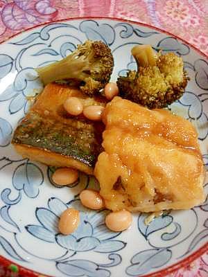 カレー風味が美味しい★焼きサバ