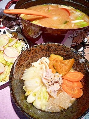 かぼちゃの旨味凝縮☆ほうとう鍋
