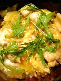 黄金比で作る美味しい親子丼♪