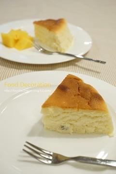 爽やかさ&濃厚なベイクドチーズケーキ
