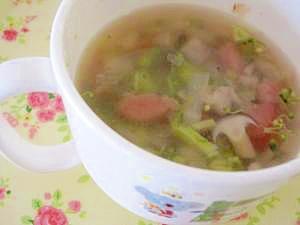 具沢山スープ【離乳食】