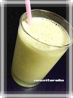 冷凍バナナ♡青汁
