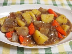 鹿肉のしぐれ煮(レシピあり)で肉じゃが
