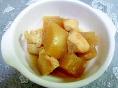 塩麹ムネ肉と大根の煮物