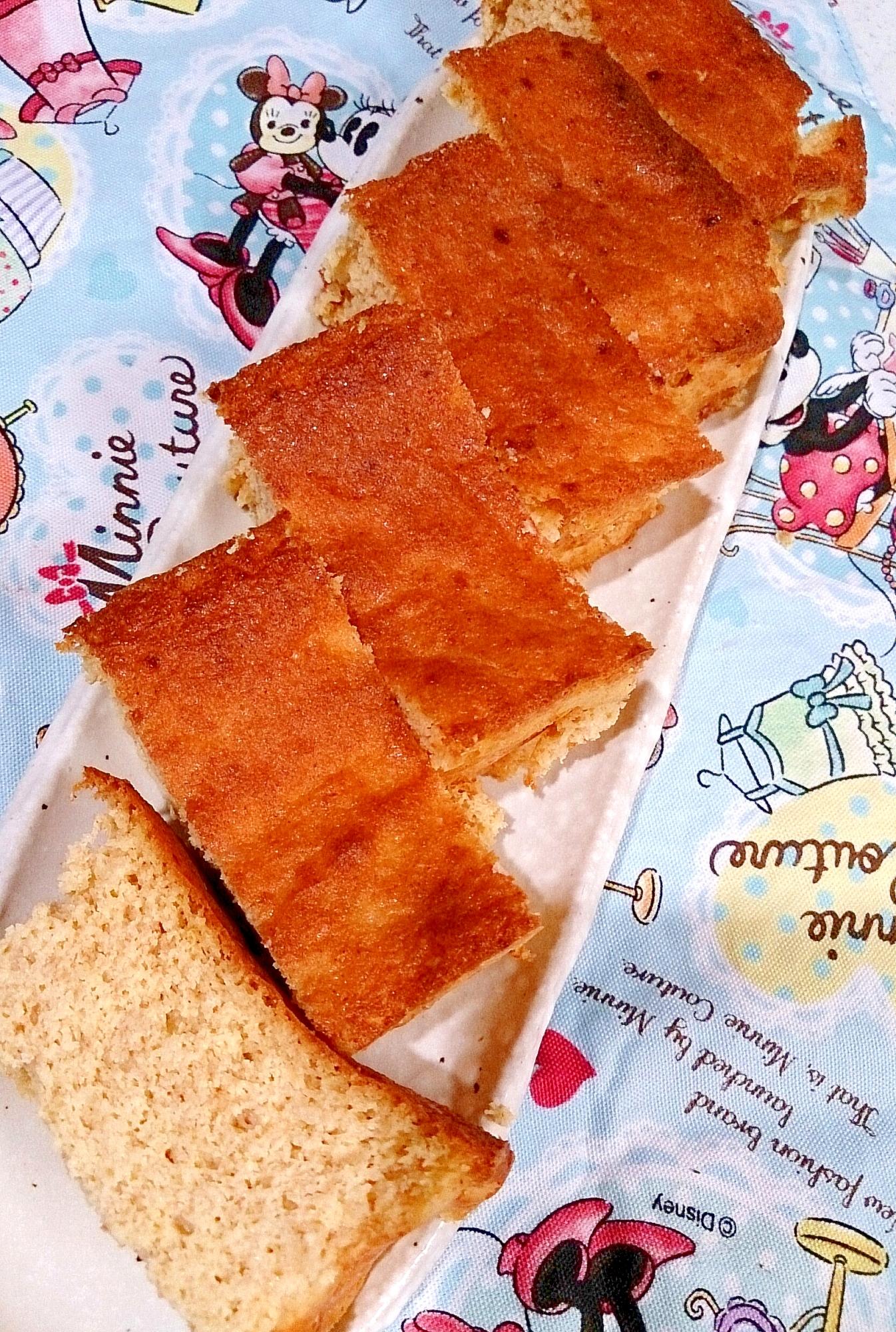 【糖質制限】約300kcalレモンパウンドケーキ