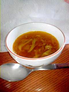 カレーを作った後に節約カレースープ