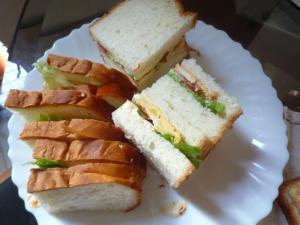 ホテル食パンで子供大好き